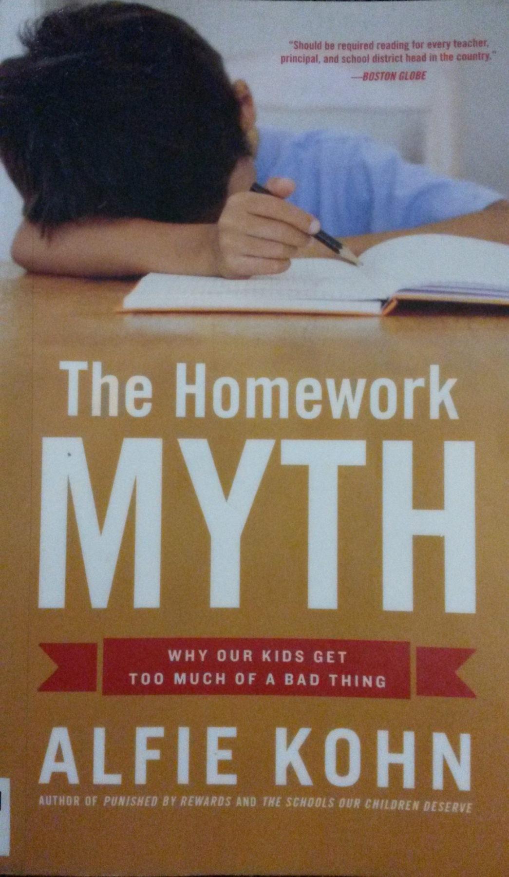 Alfie Kohn The Homework Myth