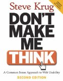Don't Make Me Think! at amazon.com